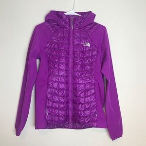 Northface Mashup Puffer Hooded Full ZIP Jacket